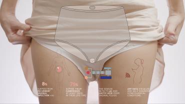 ALMA – Monitoring Vaginal fluids