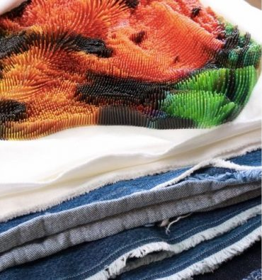 Digital Vogue – 3D Printing on Textiles: customized, sustainable, and ready-to-wear