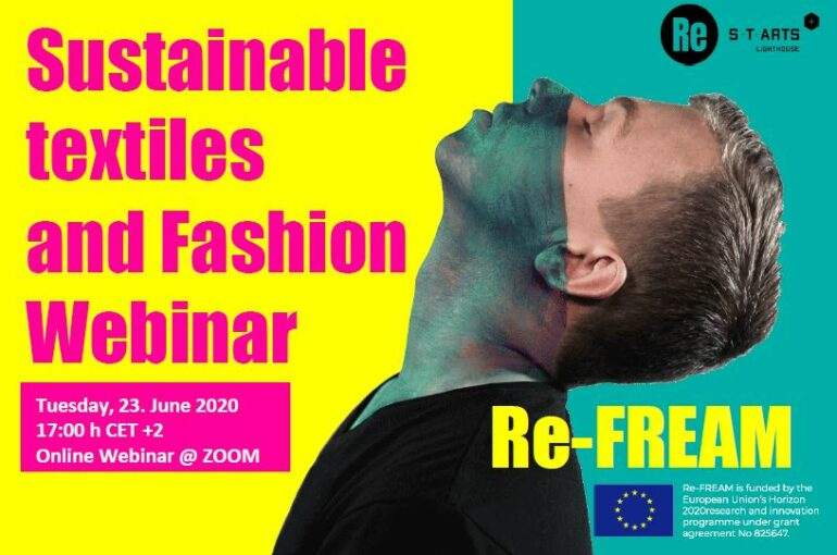 SUSTAINABLE TEXTILES AND FASHION WEBINAR